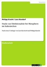 Studie zur Direktionalität bei Metaphern im Ita...