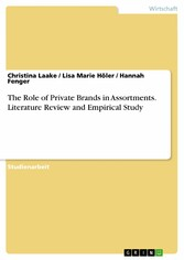 The Role of Private Brands in Assortments. Lite...