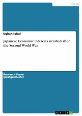 Japanese Economic Interests in Sabah after the ...