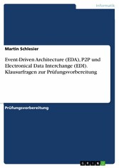 Event-Driven Architecture (EDA), P2P und Electr...