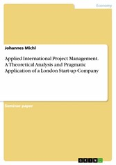 Applied International Project Management. A The...