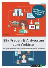 99+ Fragen & Antworten zum Webinar - Wie gute W...