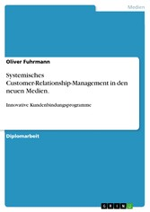 Systemisches Customer-Relationship-Management i...