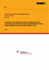 Llewellyns law job theory and the challenge of ...