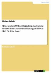 Strategisches Online-Marketing. Bedeutung von S...