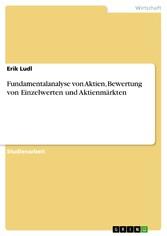 Fundamentalanalyse von Aktien, Bewertung von Ei...