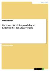 Corporate Social Responsibility als Kriterium b...