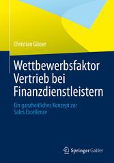 Wettbewerbsfaktor Vertrieb bei Finanzdienstleis...
