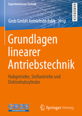 Grundlagen linearer Antriebstechnik - Hubgetrie...