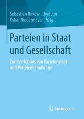 Parteien in Staat und Gesellschaft - Zum Verhäl...