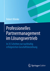 Professionelles Partnermanagement im Lösungsver...