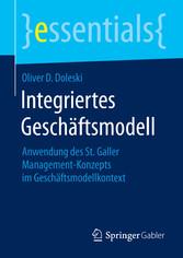 Integriertes Geschäftsmodell - Anwendung des St...