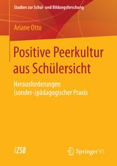 Positive Peerkultur aus Schülersicht - Herausfo...