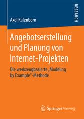 Angebotserstellung und Planung von Internet-Pro...