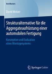 Strukturalternative für die Aggregateaufrüstung...