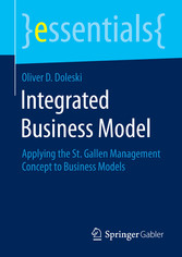 Integrated Business Model - Applying the St. Ga...