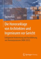 Die Honorarklage von Architekten und Ingenieure...