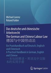 Das deutsche und chinesische Arbeitsrecht The G...