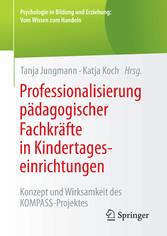 Professionalisierung pädagogischer Fachkräfte i...