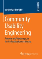 Community Usability Engineering - Prozesse und ...