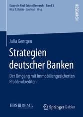 Strategien deutscher Banken - Der Umgang mit im...