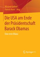 Die USA am Ende der Präsidentschaft Barack Obam...