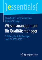 Wissensmanagement für Qualitätsmanager - Erfüll...