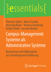 Campus-Management Systeme als Administrative Sy...