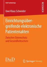 Einrichtungsübergreifende elektronische Patient...