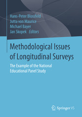 Methodological Issues of Longitudinal Surveys - The Example of the National Educational Panel Study
