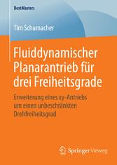 Fluiddynamischer Planarantrieb für drei Freihei...
