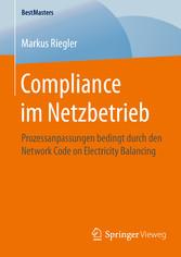 Compliance im Netzbetrieb - Prozessanpassungen ...