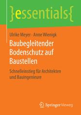Baubegleitender Bodenschutz auf Baustellen - Sc...
