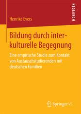 Bildung durch interkulturelle Begegnung - Eine ...