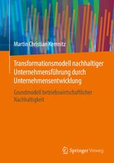Transformationsmodell nachhaltiger Unternehmens...