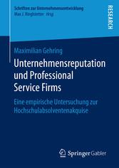 Unternehmensreputation und Professional Service...