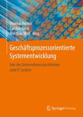 Geschäftsprozessorientierte Systementwicklung -...