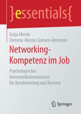 Networking-Kompetenz im Job - Psychologisches K...
