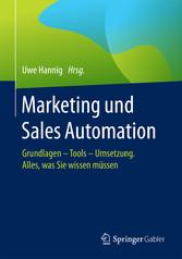 Marketing und Sales Automation - Grundlagen - T...