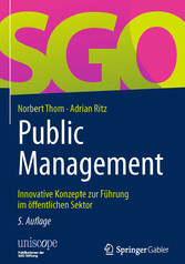 Public Management - Innovative Konzepte zur Füh...