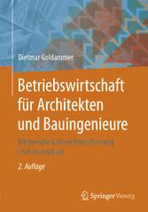 Betriebswirtschaft für Architekten und Bauingen...