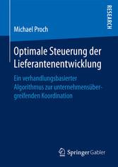 Optimale Steuerung der Lieferantenentwicklung -...