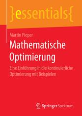 Mathematische Optimierung - Eine Einführung in ...