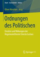 Ordnungen des Politischen - Einsätze und Wirkun...