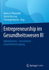 Entrepreneurship im Gesundheitswesen III - Digi...