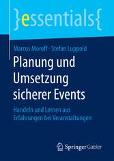 Planung und Umsetzung sicherer Events - Handeln...