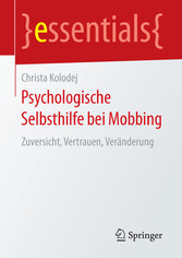 Psychologische Selbsthilfe bei Mobbing - Zuvers...