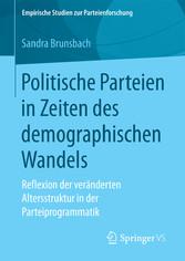 Politische Parteien in Zeiten des demographisch...