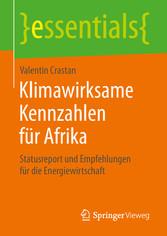 Klimawirksame Kennzahlen für Afrika - Statusrep...