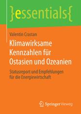 Klimawirksame Kennzahlen für Ostasien und Ozean...